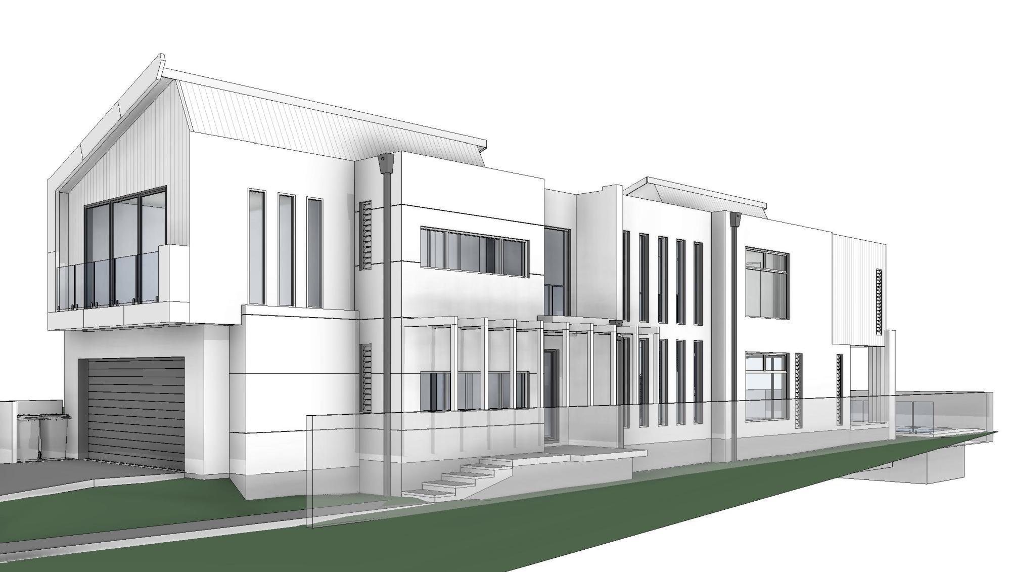 Hawthorne brisbane ms designs for Luxury home designs brisbane